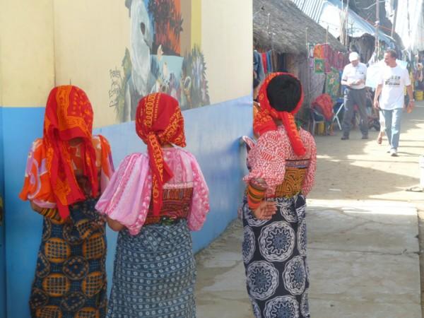 Frauen auf den SanBlasInseln vor Panama