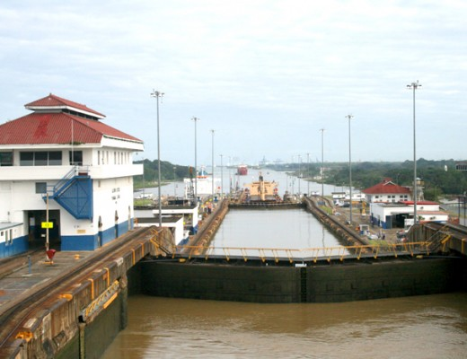 Panama Kanal Gatun Schleuse