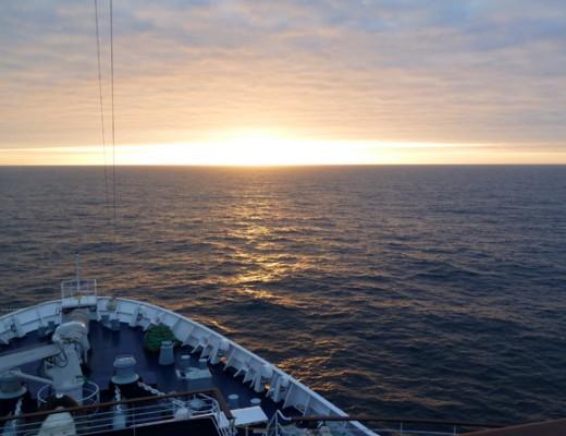 Die Sonnen auf dem Pazifik