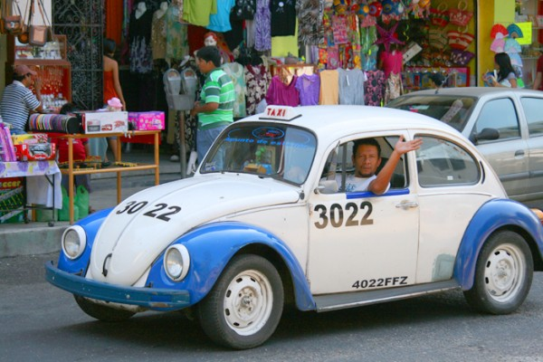 VW Kaefer in Acapulco Mexico