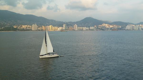 Die Bucht von Acapulco Mexiko