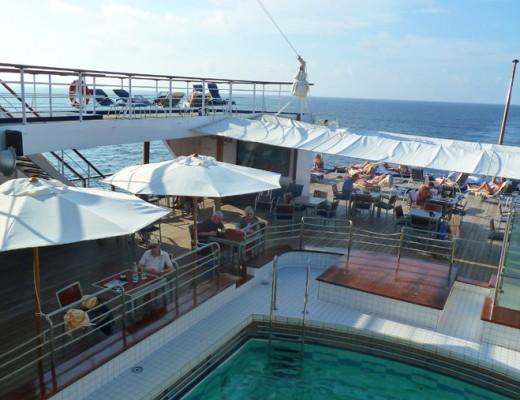 An Bord des Traumschiffs
