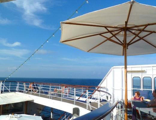 Leben an Bord von Kreuzfahrtschiff MS Astor