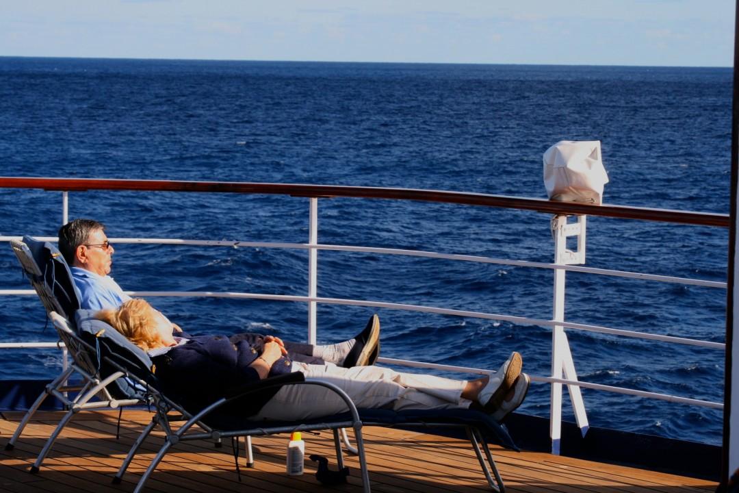 Urlaub an Bord des Kreuzfahrtschiff