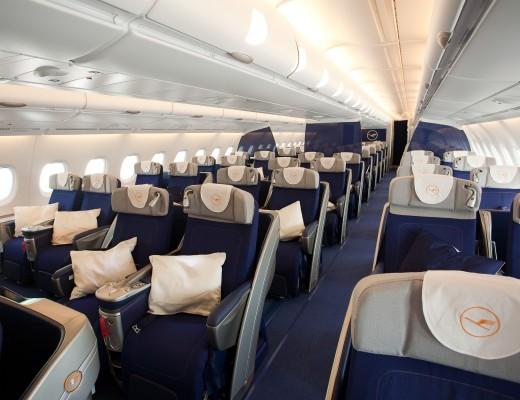 Business-Class-Sitze in der A380