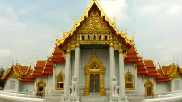 Der Marmortempel in Bangkok