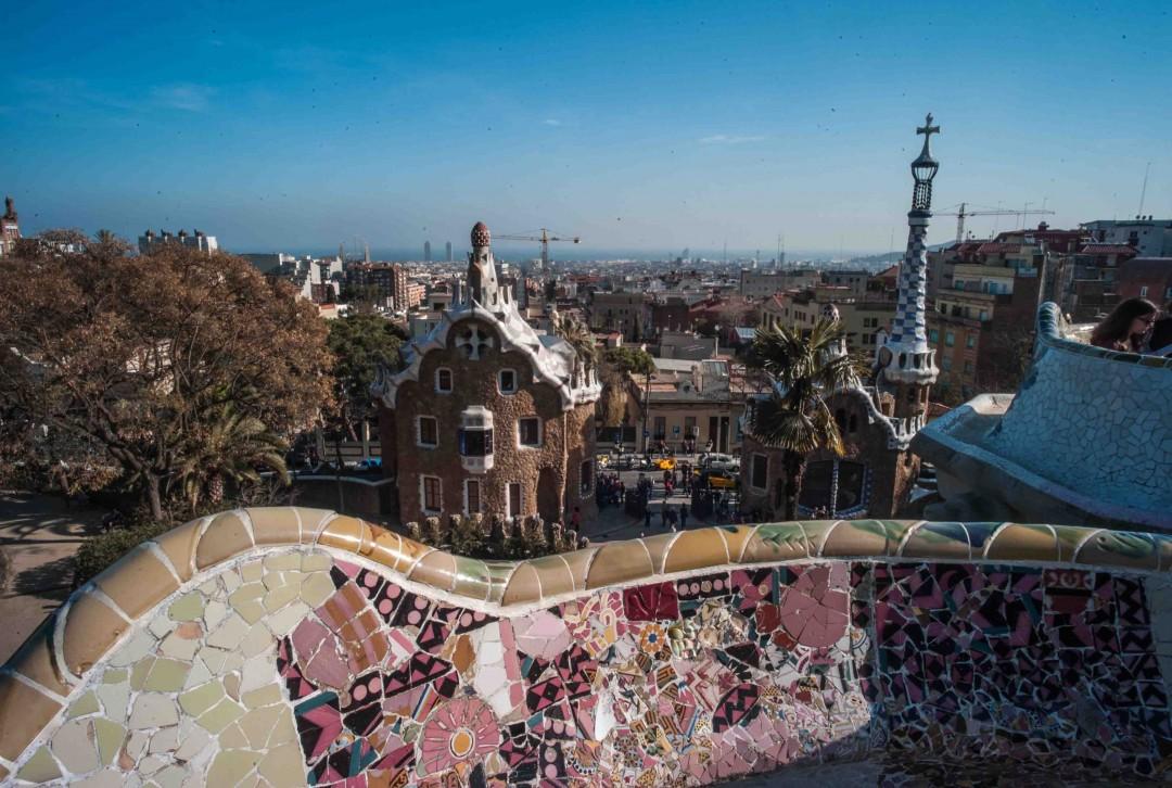Barcelona Gaudi Art