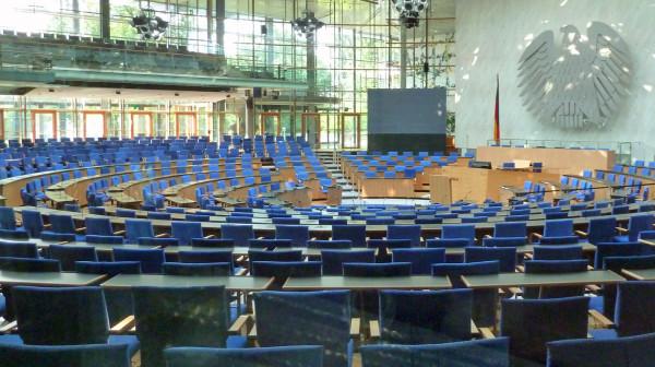 Der neue Plenaarsaal in Bonn