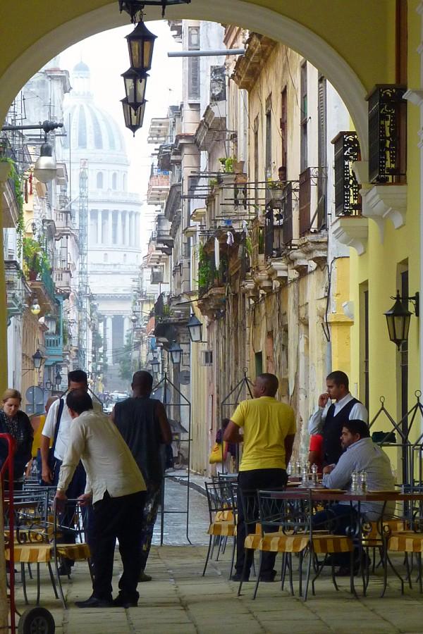 Die Straßen von Havanna auf Kuba