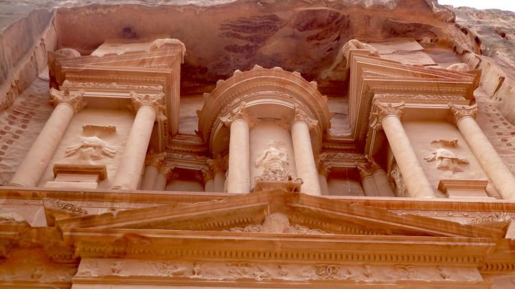 Felsenstadt Petra in JordanienFelsenstadt Petra in Jordanien