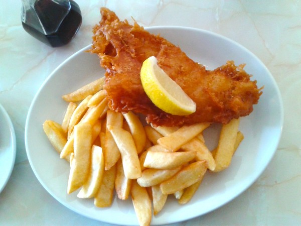 Fish and chips sind in Whitby besonders lecker