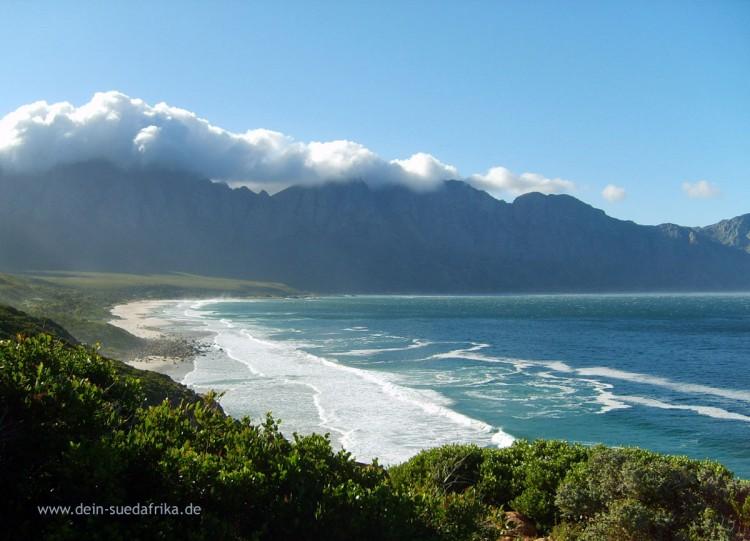 Aus dem Weg nach Hermanus, Western Cape