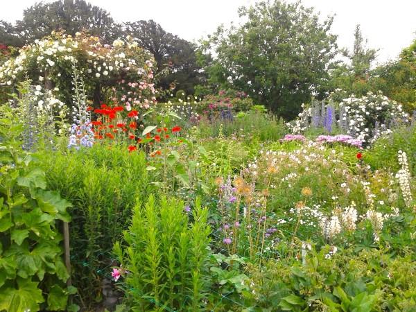 Der Garten von Burton & Agnes House