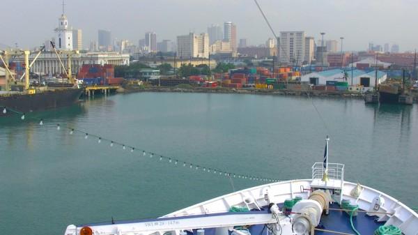 Hafen in Manila