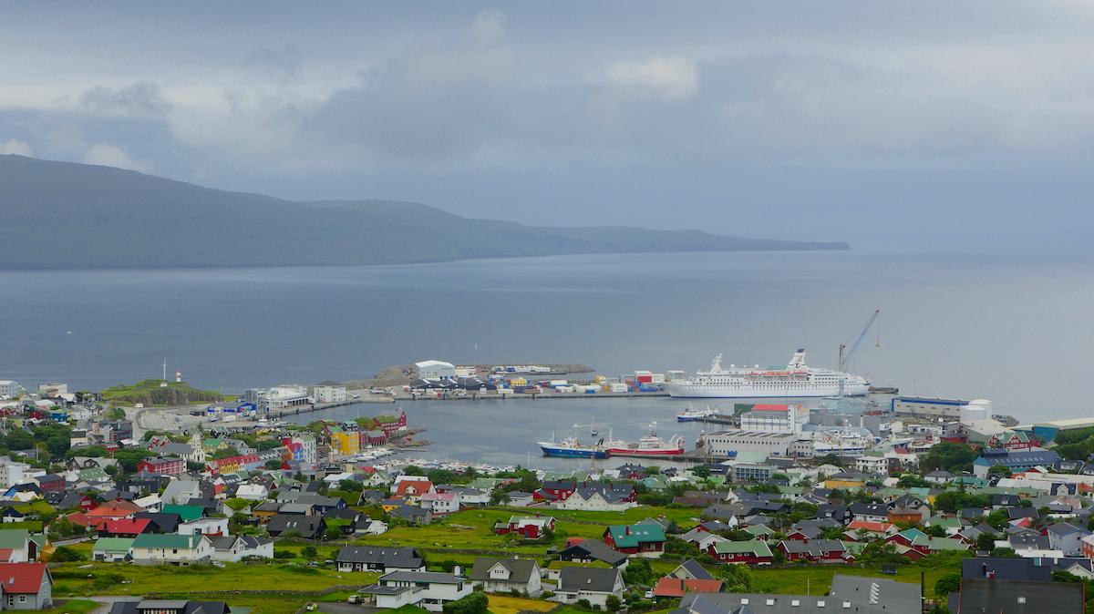 MS Astor in Torshavn