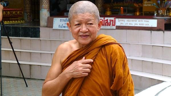 Ein typisches Bild: Buddhistische Mönche