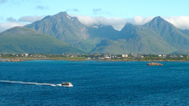 The first impression of Lofoten