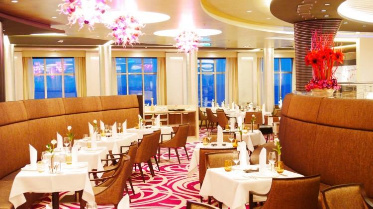 Weltmeere Restaurant auf MS Europa 2