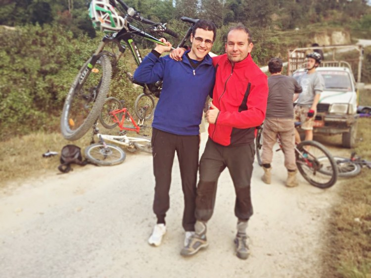 Mountainbike-Nepal