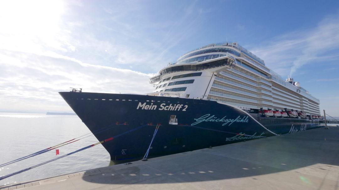 Die Neue Mein Schiff 2 Auf Erkundungskurs An Bord