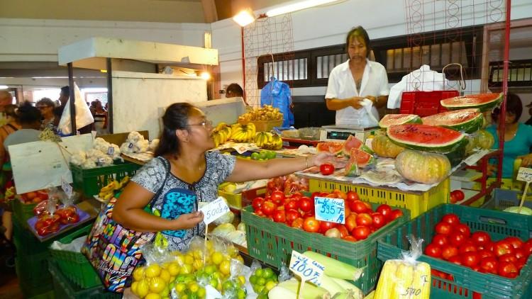 Markt Neukaledonien