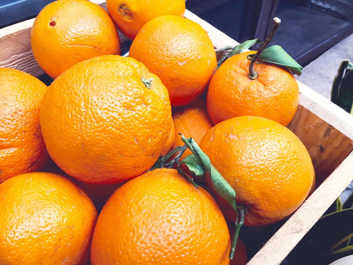 Orangen-Spanien