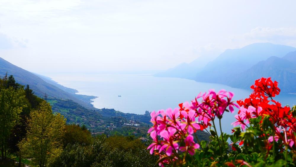 Gardasee, Blick vom Monte Baldo