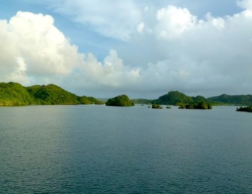 Die Inselwelt von Palau erwartet uns.