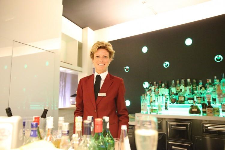 Und auch der Bar gibt es leckere Getränke