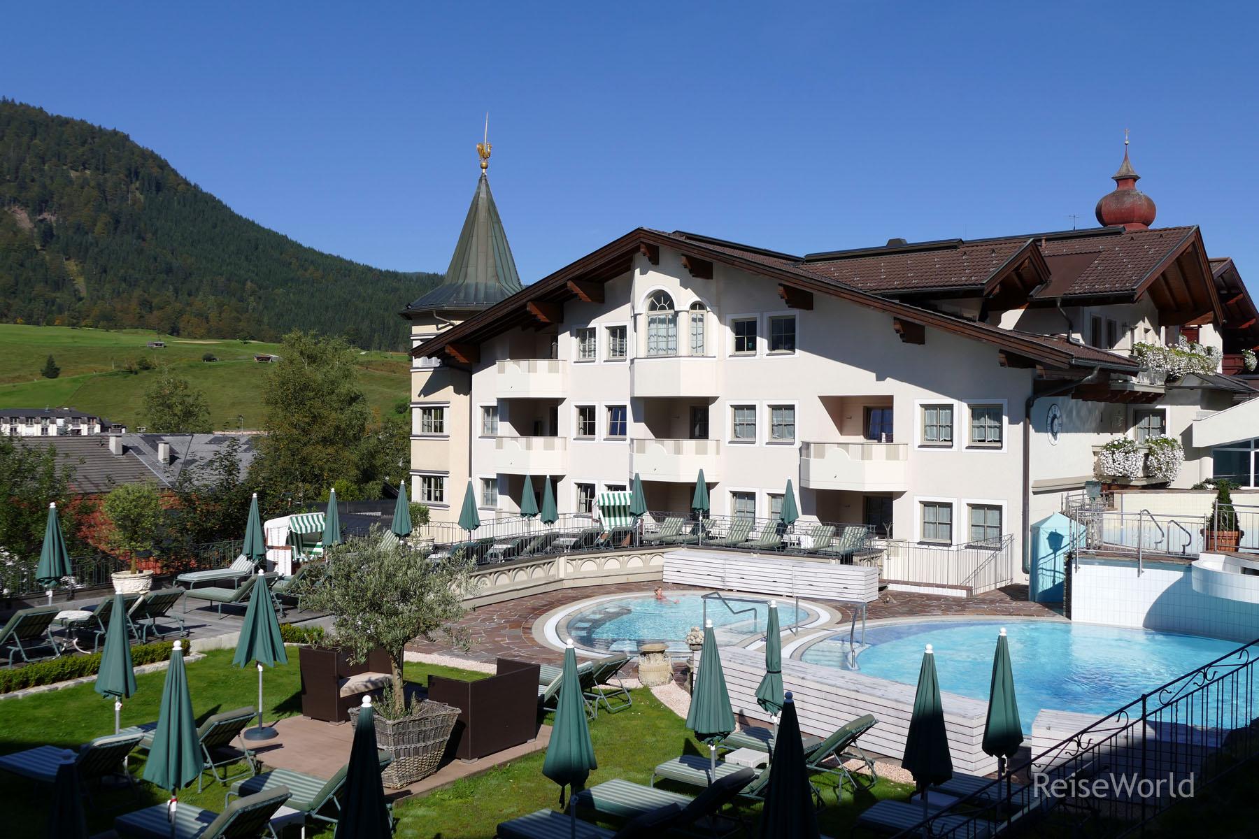 Hotelbericht reiter 39 s posthotel achenkirchreiseworld for Design hotel achensee
