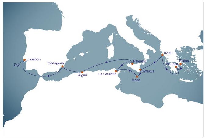 Route_Mittelmeer