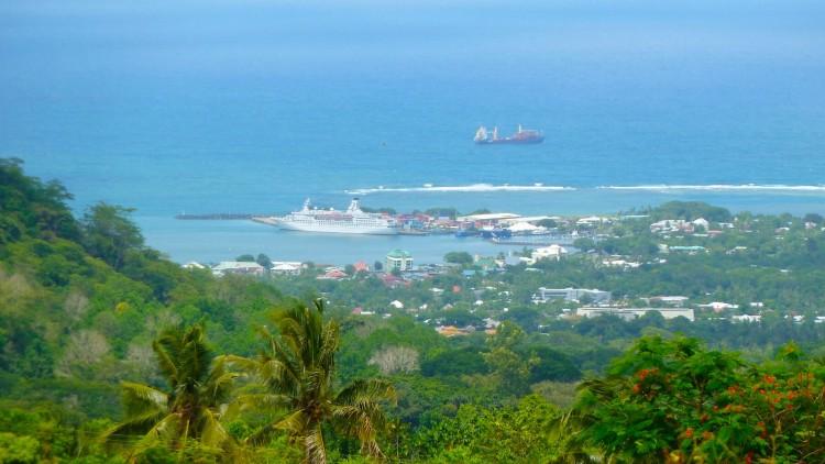 Aussicht über Apia