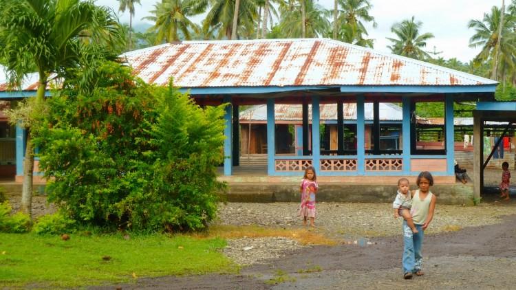 Kinder in Samoa