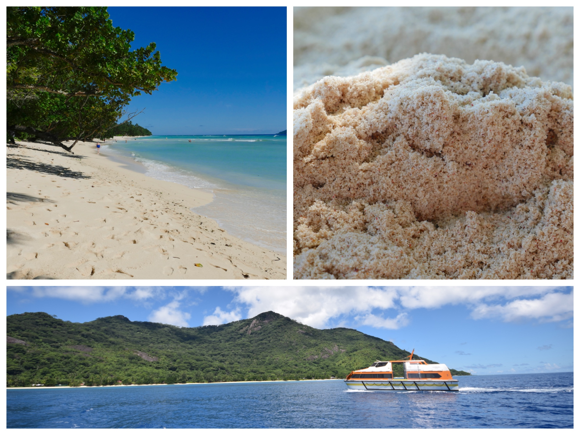 Silhouette-Seychellen