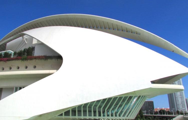Das Opern- und Kulturhaus Palau de les Arts Reina Sofía.