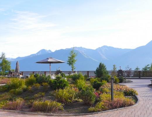 Terasse Interalpen Hotel Tyrol