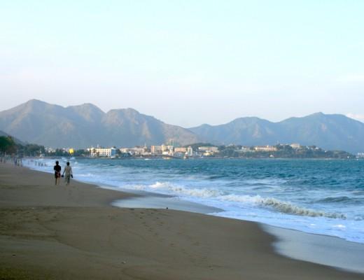 Der Strand in Nha Trang, Vietnam