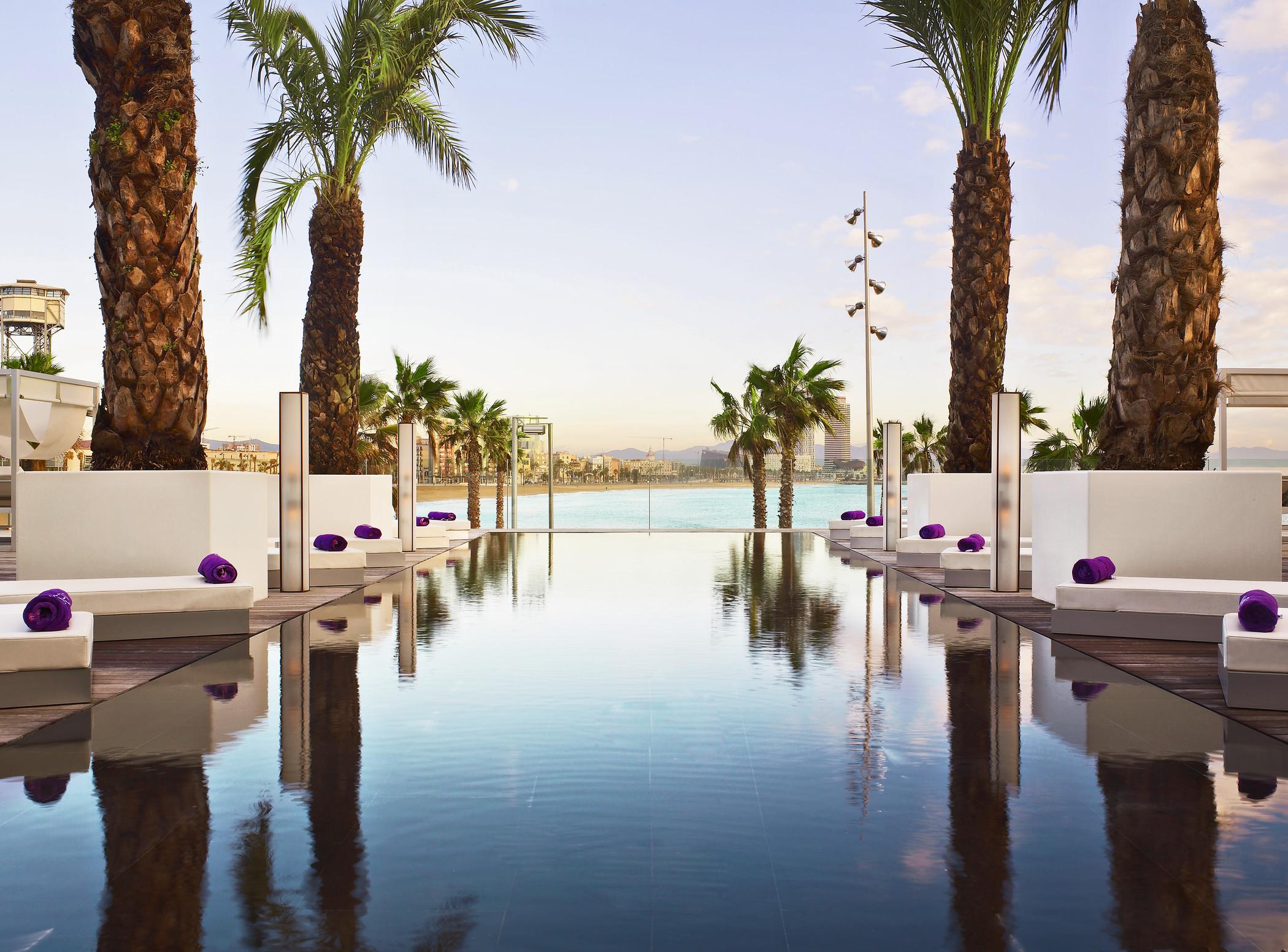Das w hotel barcelona noble insel in der spanischen for Hotel barcelona w