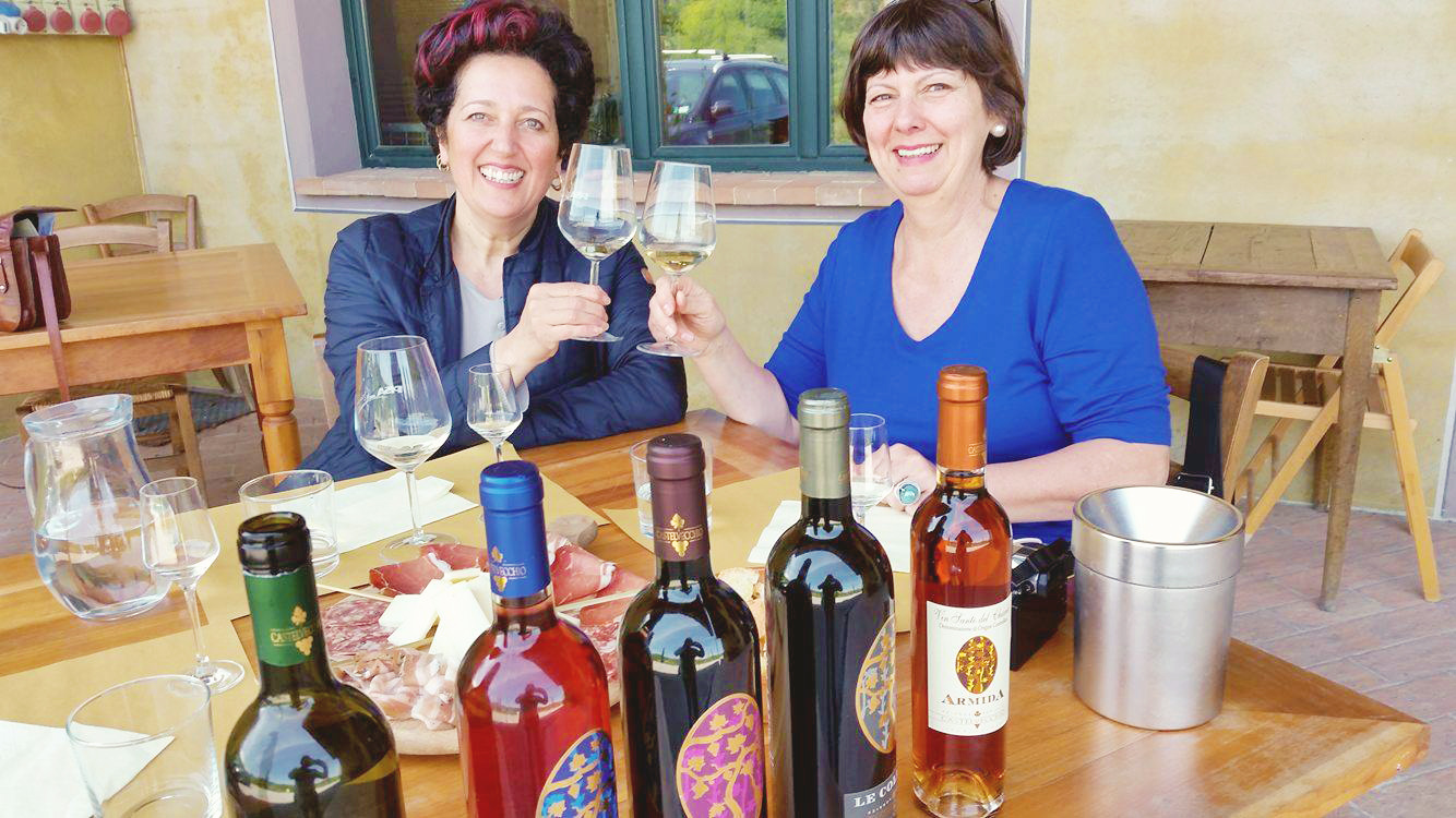 Wein-Verkostung-Toskana