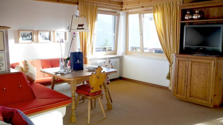 Zimmer im Interalpen Hotel Tyrol