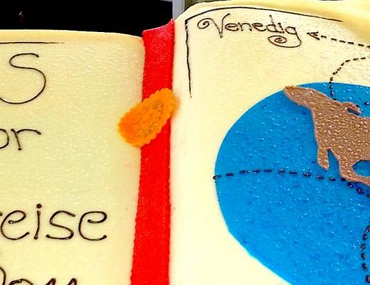 Eine Buch-Torte auf der Astor :-)