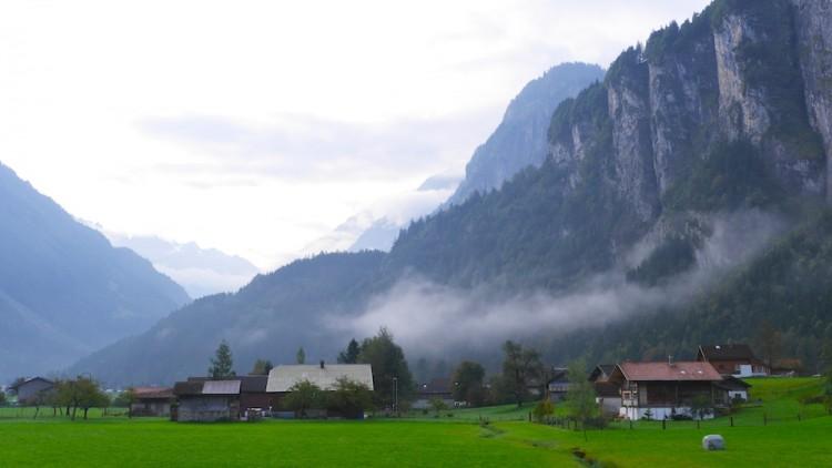 Alpenwiesen bei Interlaken