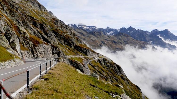 Der Sustenpass in der Schweiz