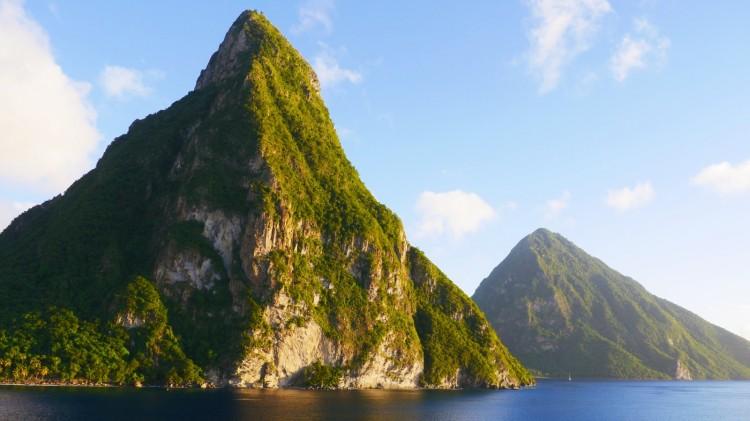 Pitons auf St. Lucia