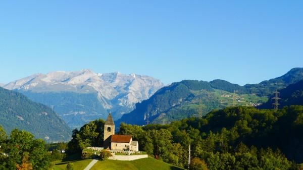 Bernina Express im Albulatal