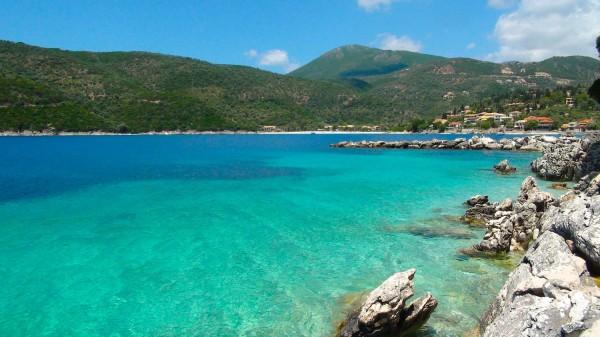 Lefkada, Rouda Bucht bei Poros