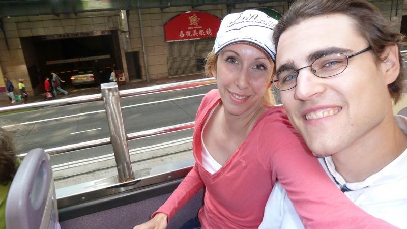 Hongkong im Sightseeingbus