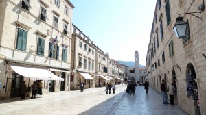Die Prachtstraße Placa von Dubrovnik