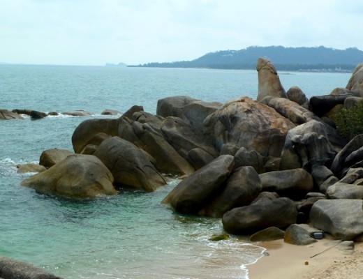 Die Mama-und-Papa-Felsen auf Koh Samui