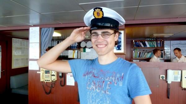 ... und Kapitän Thomas